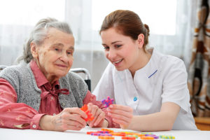 moving into an nursing home