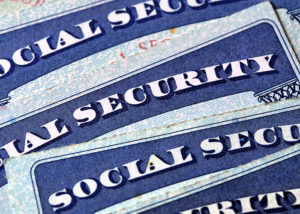 image of social security cards