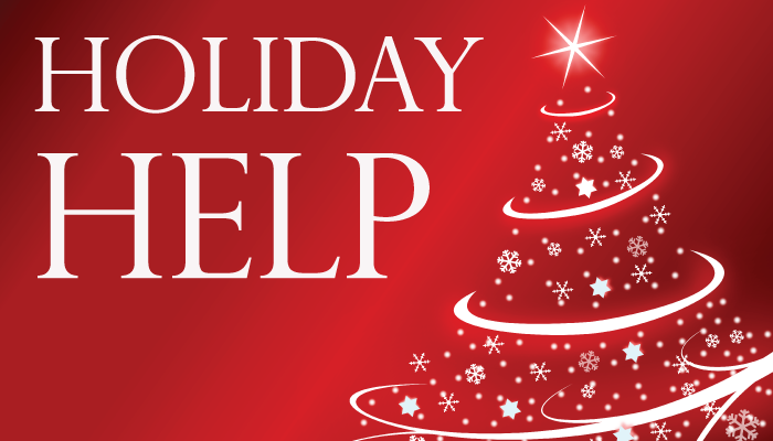 holiday help seasonal workers