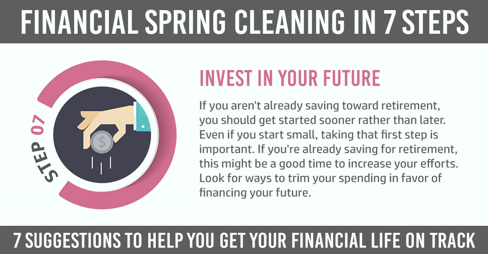 financial clean up step 7 with explanation
