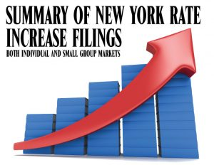 rate increase graft with text